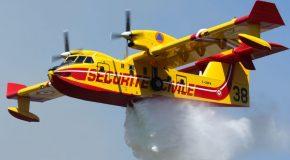 Le Canadair l'avion qui lutte contre les feux de forêts