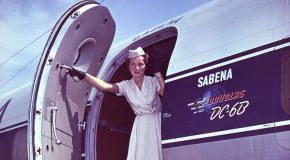 Les avions Sabena du début jusqu'à la «fin» pour les fans de l'aviation!
