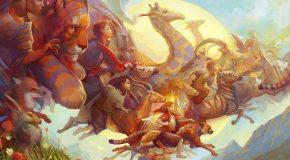 Illustrations incroyablement belles de Julie Dillon, le rêve surgit!