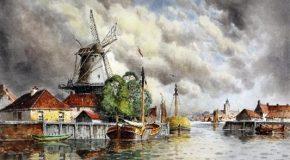 Peintures des plus réalistes de l'artiste Louis Van Stateen