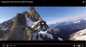 Un drone survole les Alpes suisses et capture la magie du coin