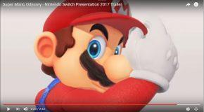 Le trailer de Super Mario Odyssey sur la Nintendo Switch à voir absolument!
