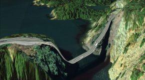 Routes incroyablement dangereuses à travers le monde