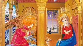 Hiroshi Mori, l'artiste Japonais qui fusionne manga et peintures religieuses