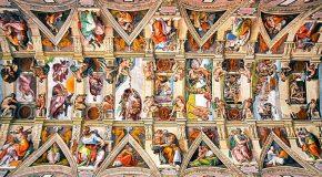 Florian Pagano capture les plafonds des églises de Rome en Italie pour son projet «Churches of Rome»!