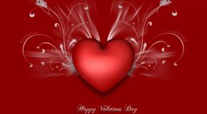 La Saint-Valentin, la fête des amoureux, avec des images de couples et des fleurs surtout!