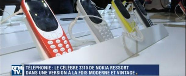 Retour du Nokia 3310 avec des nouveautés, mais toujours sa robustesse