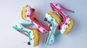 Les chaussures inspirées des pâtisseries de l'Américain Chris Campbell