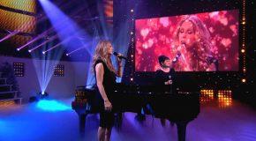 La chanson «Quand on n'a que l'Amour» chantée par Céline Dion et Maurane