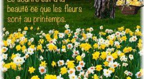 Le printemps est là, la nature est belle, la musique commence!