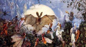 Les Anges, les elfes et de beaux tableaux avec une douce musique