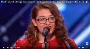 Elle est sourde et elle a décroché le Golden Buzzer à l'émission America's Got Talent
