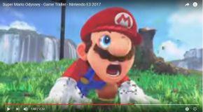 Super Mario Odyssey, la bande-annonce qui en dit un peu plus!