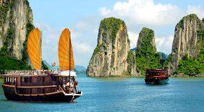 Endroits de rêve au Vietnam, c'est presque irréel!