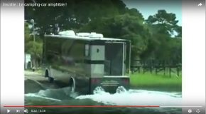 Meilleure façon de voyager, le camping-car amphibie