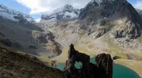 Belle balade au parc national  des Écrins dans les Alpes du Sud