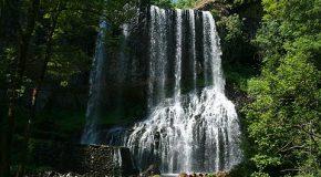 Cascade, lacs, faune et flore de la Haute-Loire en France