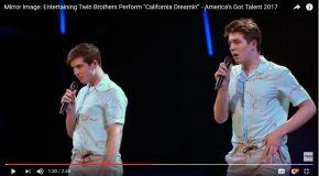 Un duo pas comme les autres à l'émission «America's Got Talent 2017