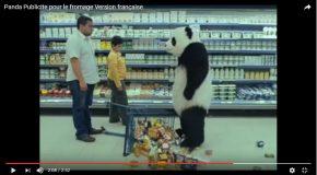 Un fromage de marque Panda dans une pub très drôle!