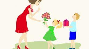 Douces pensées pour toutes les mamans du monde!