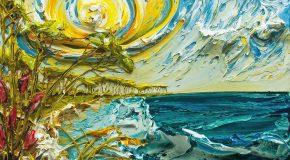 Magnifiques peintures en relief de l'artiste Américain Justin Gaffrey