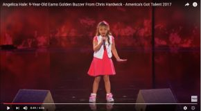 A 9 ans Angelica Hale chante comme une diva à l'émission America's Got Talent 2017