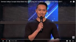 Damian Aditya, un artiste incroyable dans America's got talent