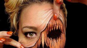 Une artiste Croate crée l'illusion parfaite avec son visage