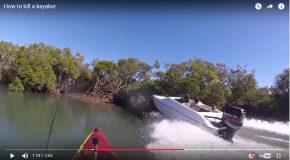 Grosse frayeur pour un kayakiste en Australie