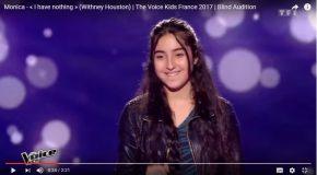 Belle performance d'une jeune fille à l'émission «The Voice Kids»