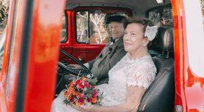 Pour le 60ème anniversaire de leur mariage ils réalisent un photoshoot-souvenir!