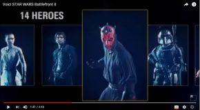 Star Wars Battlefront 2 , le jeu vidéo le plus attendu au monde!
