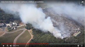Les ravages de feu en Californie, c'est terrible!