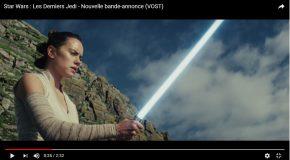 Nouvelle Bande-annonce de Star Wars Les Derniers Jedi