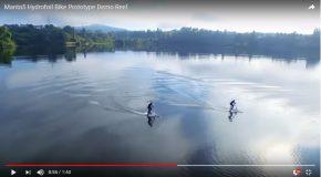 Incroyable: Un vélo qui fonctionne uniquement sur l'eau!