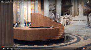 Une structure qui tourne et qui enchante au Panthéon à Paris