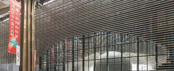 Une bibliothèque ultramoderne  en Chine, c'est à couper le souffle!