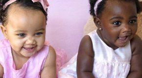 Deux bébés jumelles dont la couleur de peau est différente séduisent le Web