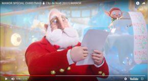Adorable publicité de Noël pour les magasins Suisses Manor