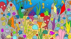 10 illustrations avec des éléments cachés à découvrir tout en s'amusant!