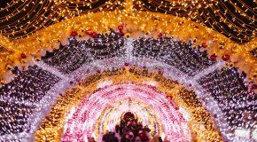 Magnifiques clichés de Moscou en Russie durant Noël
