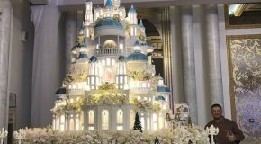 Un gâteau de mariage qui ne coûte que 70 000 euros!