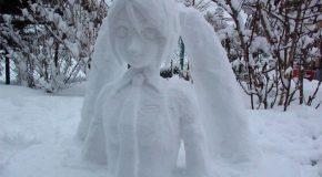 Les plus belles sculptures de glace au pays du soleil levant
