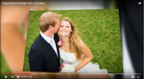 Moments de joie avec le mariage d'un couple