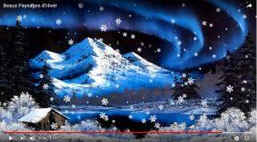 Beautés glacées, un pps dédié à l'hiver, car c'est beau l'hiver!