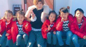 Le quotidien pas banal d'une adorable et nombreuse famille Japonaise