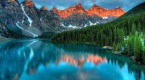 Musique relaxante et paysages naturels qui invitent au voyage