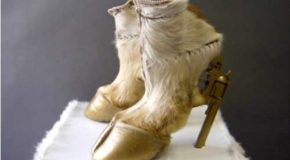 Des chaussures un peu bizarres, un peu incroyables!