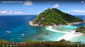 Des îles de rêve, pour changer un peu le quotidien de tout le monde!