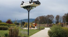 Des sculptures qui défient étrangement les lois de la physique et de la gravité
